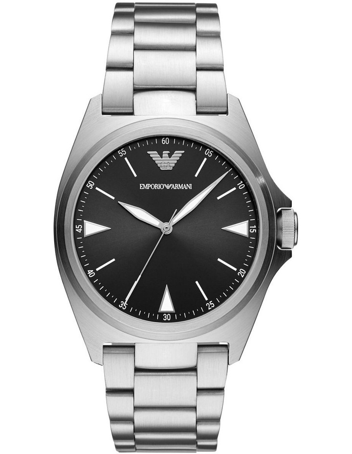 Silver Analogue Watch AR11255 image 1