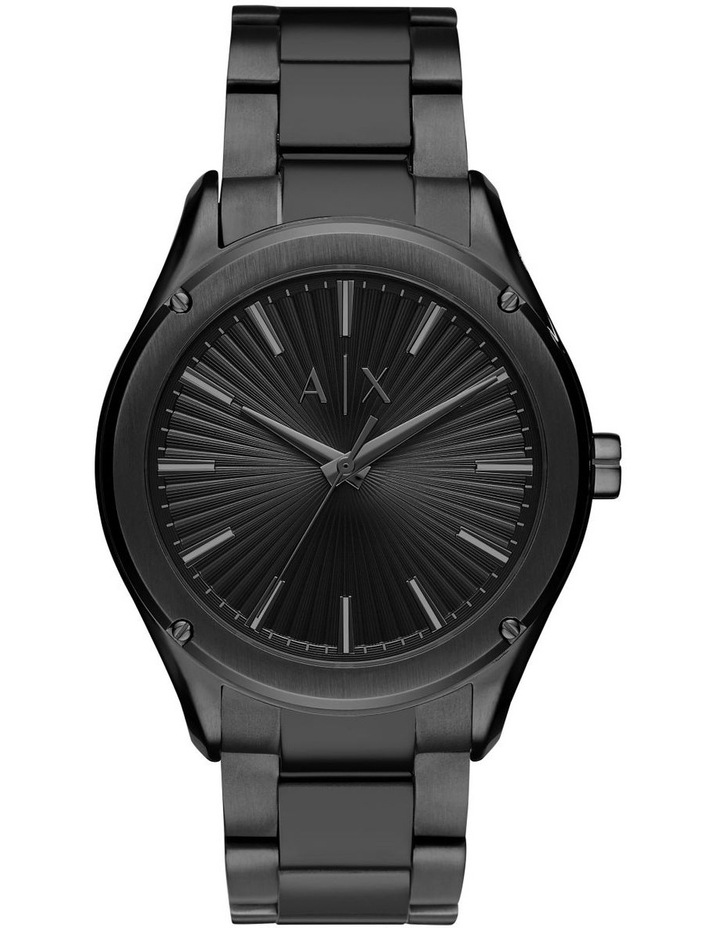 Black Analogue Watch AX2802 image 1
