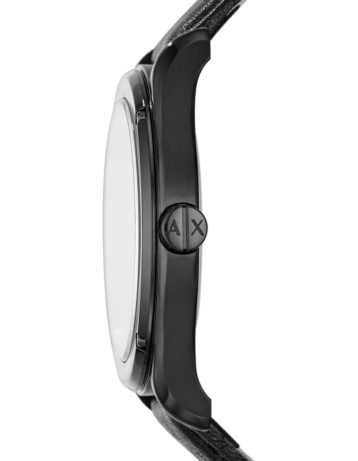 Black Analogue Watch AX2805 image 3