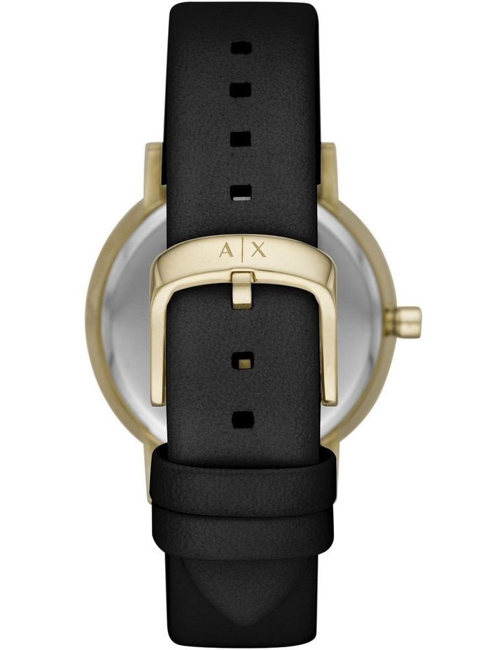 Black Analogue Watch AX5561 image 2