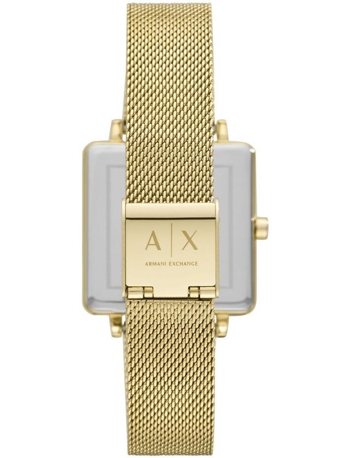 Gold-Tone Analogue Watch AX5801 image 3