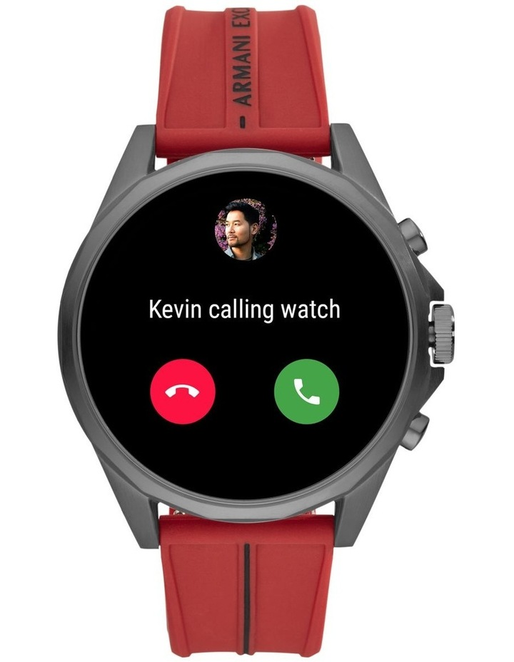 Red Display Smartwatch Watch AXT2006 image 4