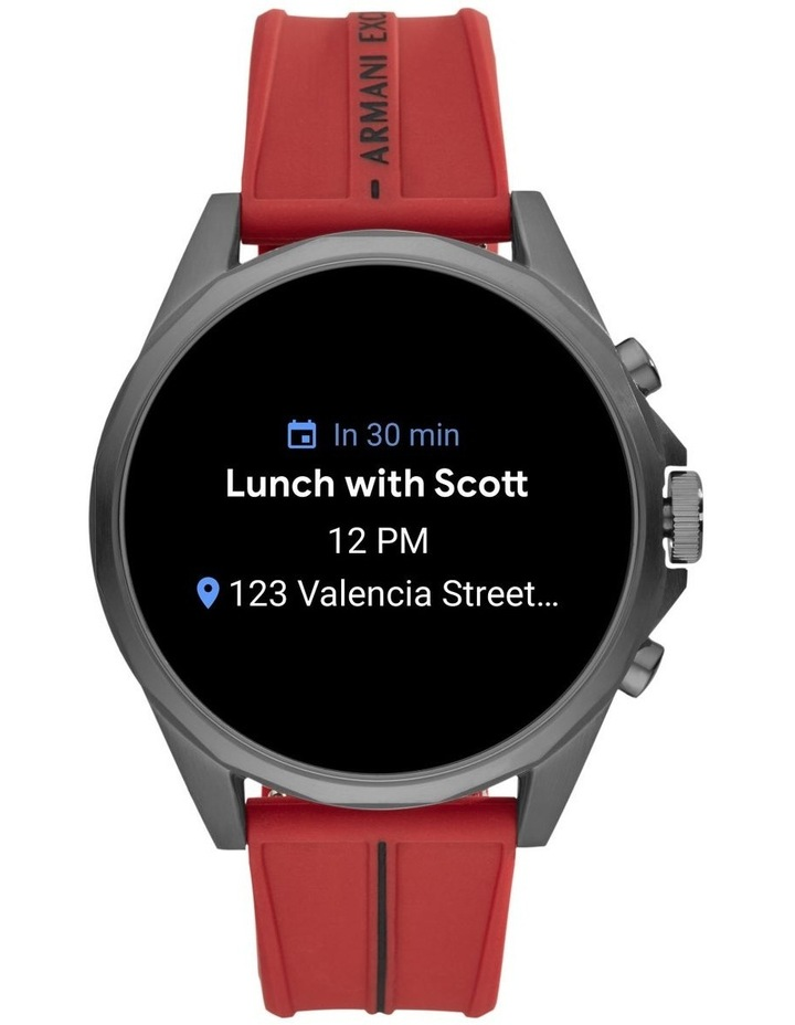 Red Display Smartwatch Watch AXT2006 image 5