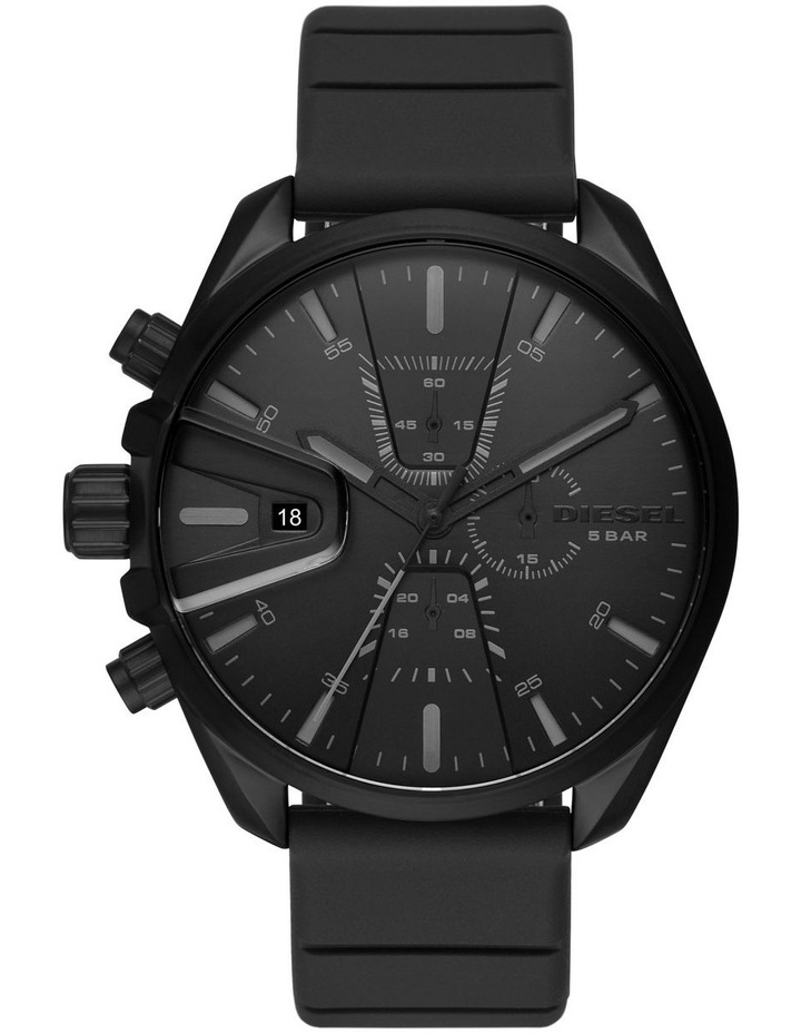 MS9 Black Chronograph Watch DZ4507 image 1