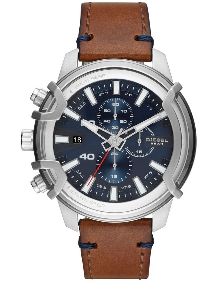 Griffed Brown Chronograph Watch DZ4518 image 1