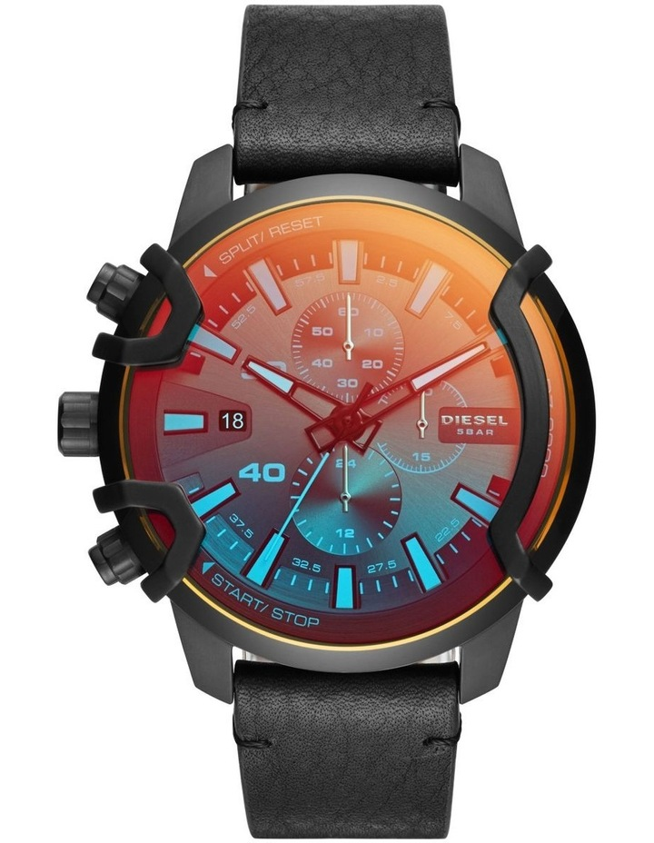Griffed Black Chronograph Watch DZ4519 image 1