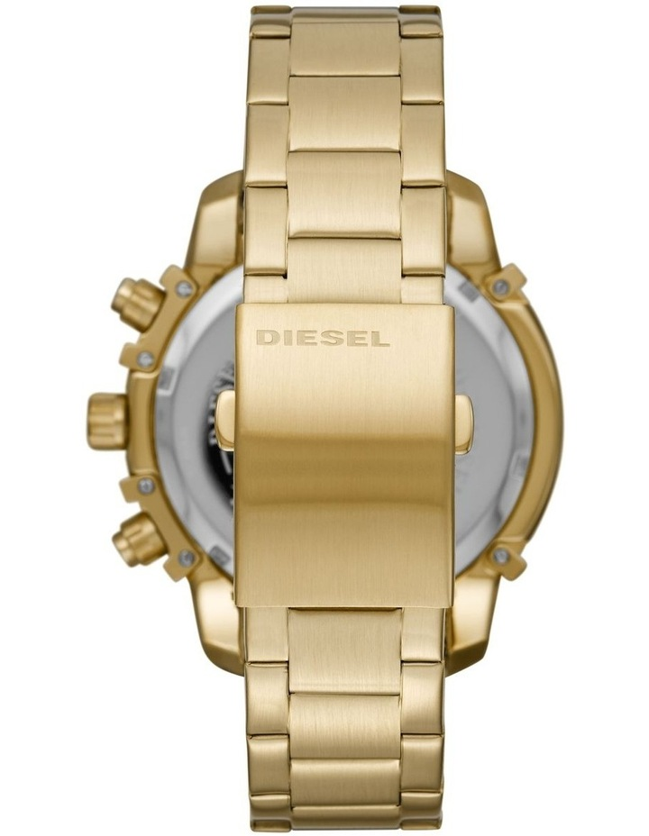 Griffed Gold-Tone Chronograph Watch DZ4522 image 2