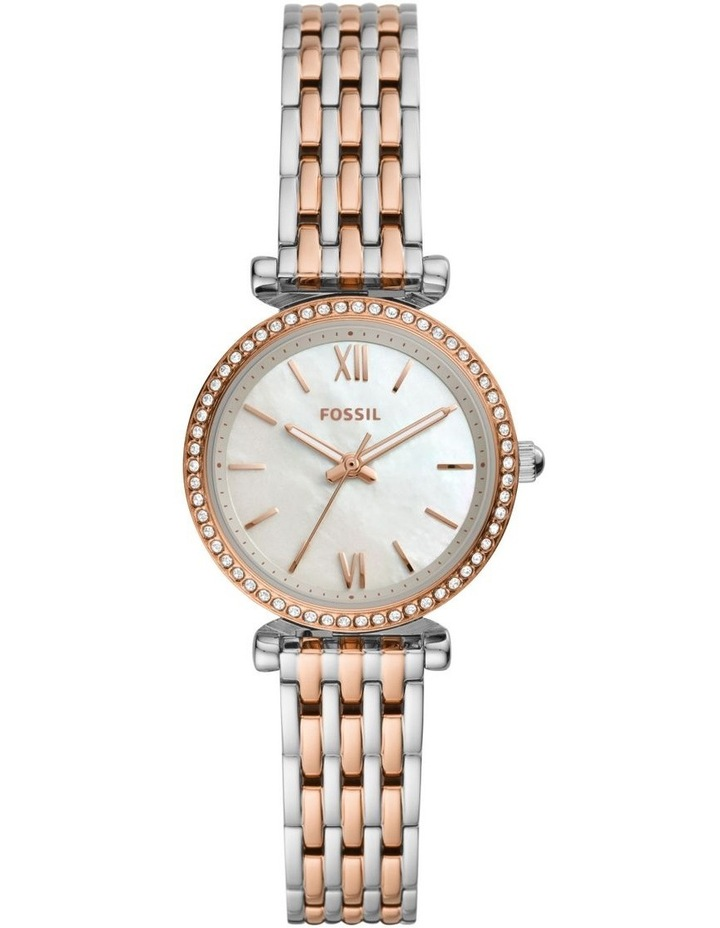 Carlie Two-Tone Analogue Watch ES4649 image 1