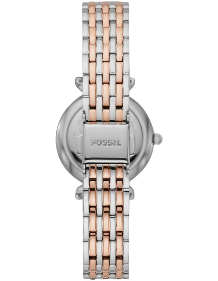 Carlie Two-Tone Analogue Watch ES4649 image 2