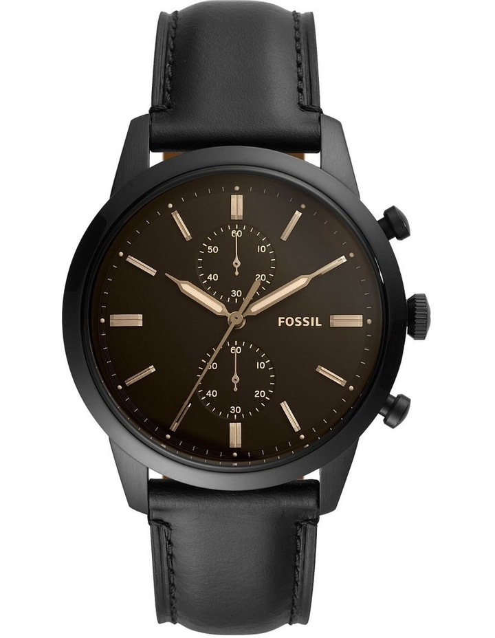Townsman Black Chronograph Watch FS5585 image 1