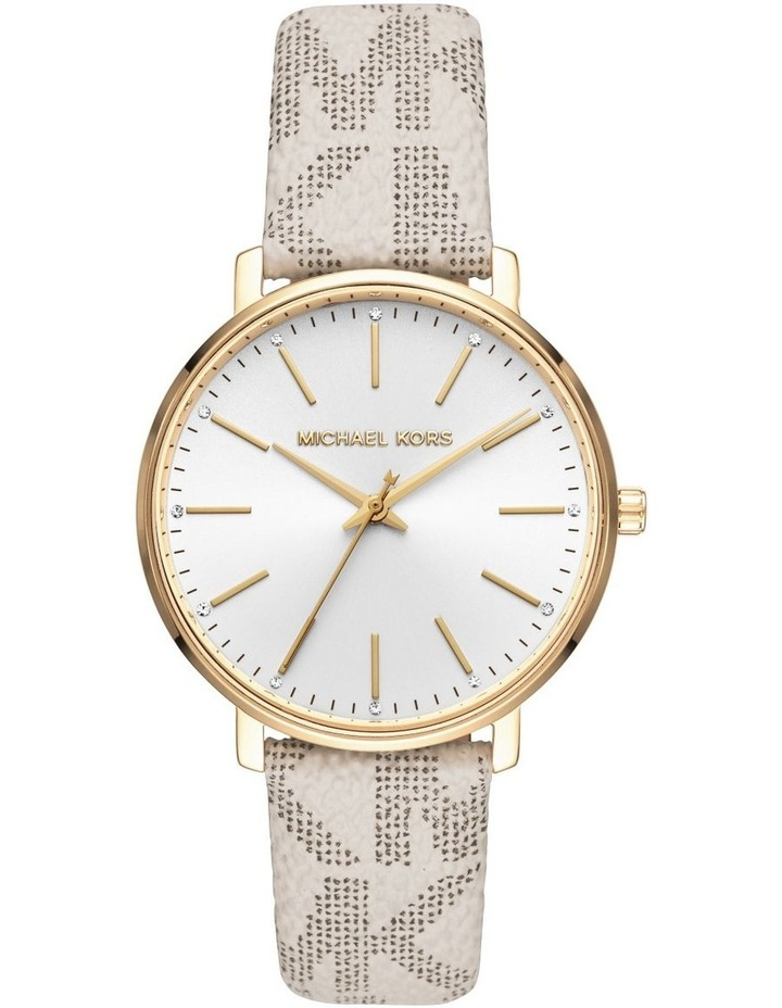Pyper White Analogue Watch MK2858 image 1