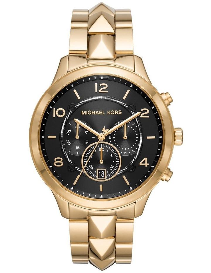 Runway Gold-Tone Chronograph Watch MK6712 image 1