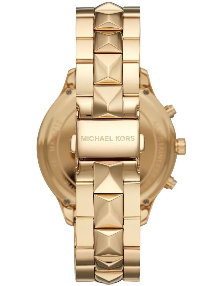 Runway Gold-Tone Chronograph Watch MK6712 image 2