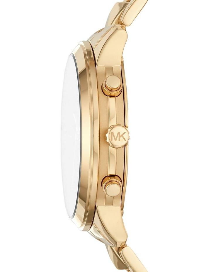 Runway Gold-Tone Chronograph Watch MK6712 image 3