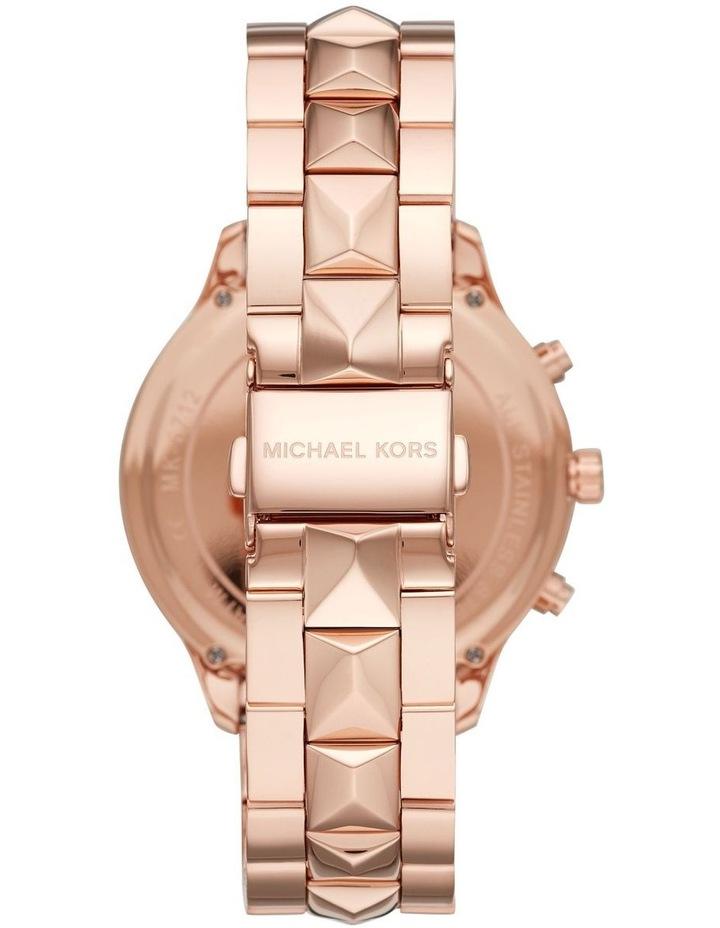 Runway Rose Gold-Tone Chronograph Watch MK6713 image 2
