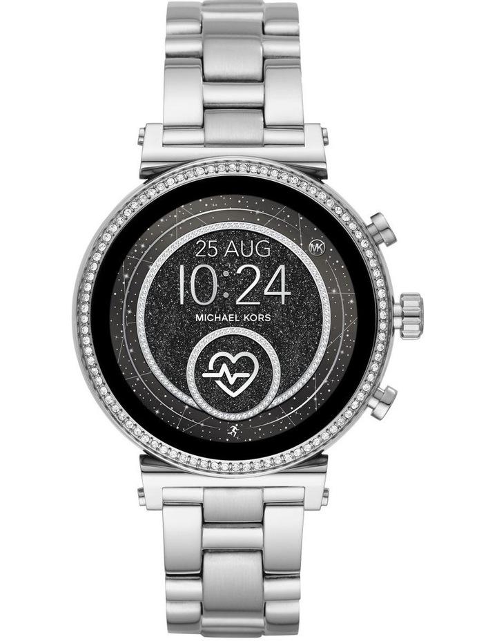 Sofie Silver Display Smartwatch Watch MKT5061 image 1