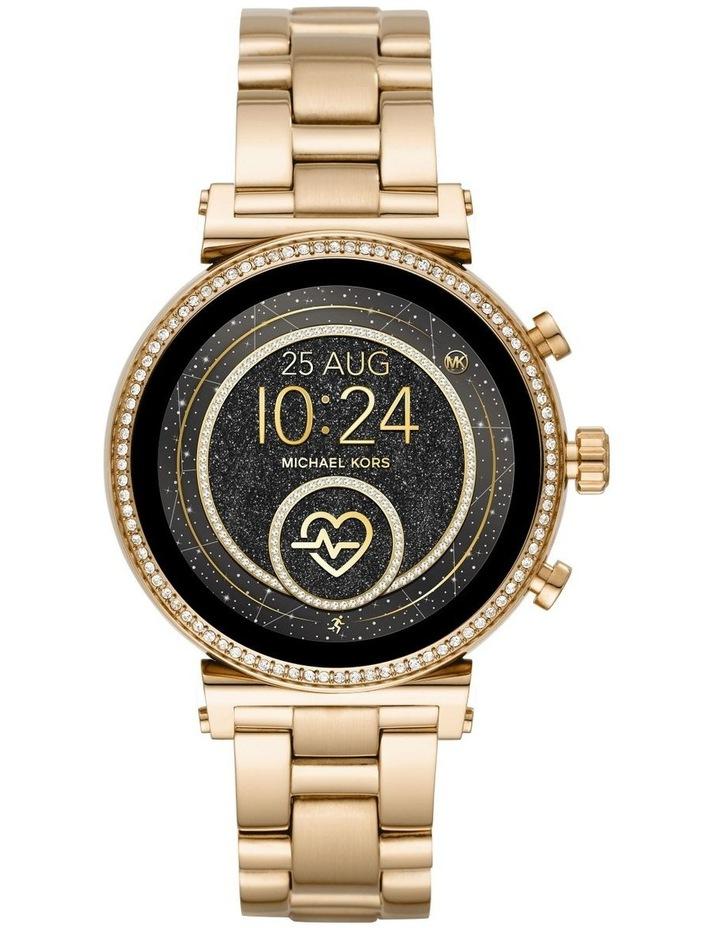Sofie Gold-Tone Display Smartwatch Watch MKT5062 image 1