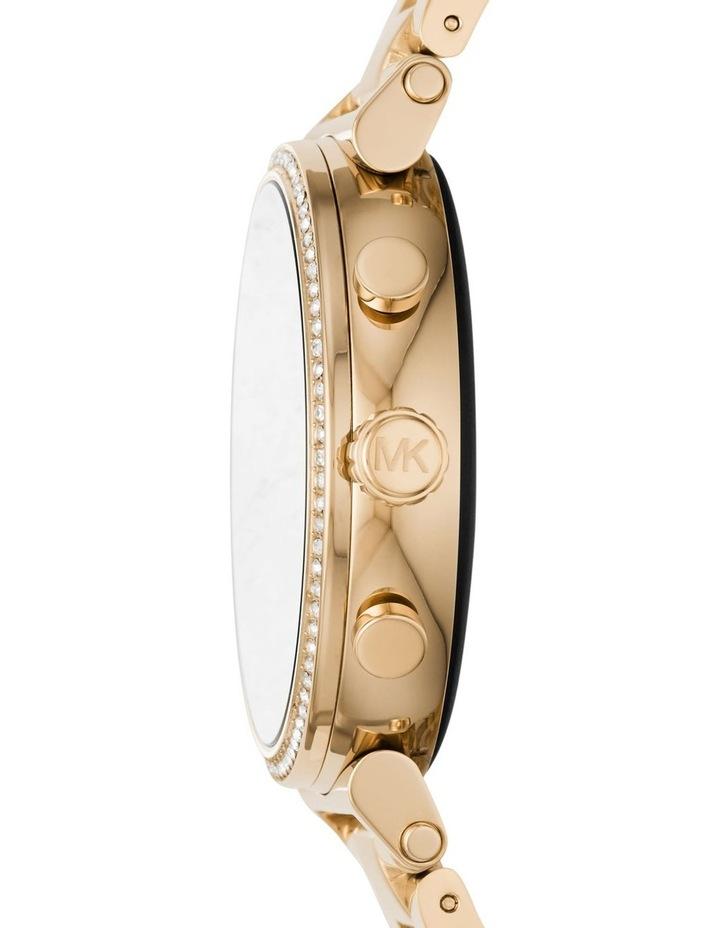 Sofie Gold-Tone Display Smartwatch Watch MKT5062 image 3