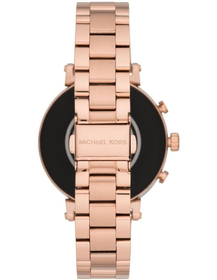 Sofie Rose Gold-Tone Display Smartwatch Watch MKT5063 image 2