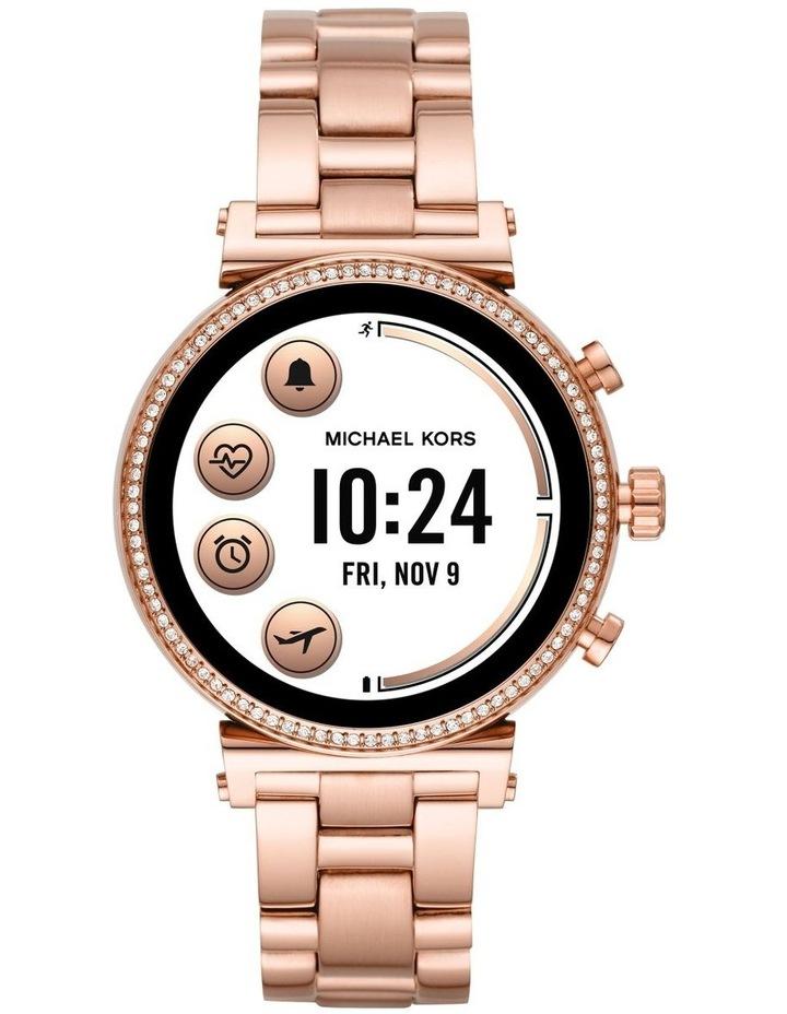 Sofie Rose Gold-Tone Display Smartwatch Watch MKT5063 image 4