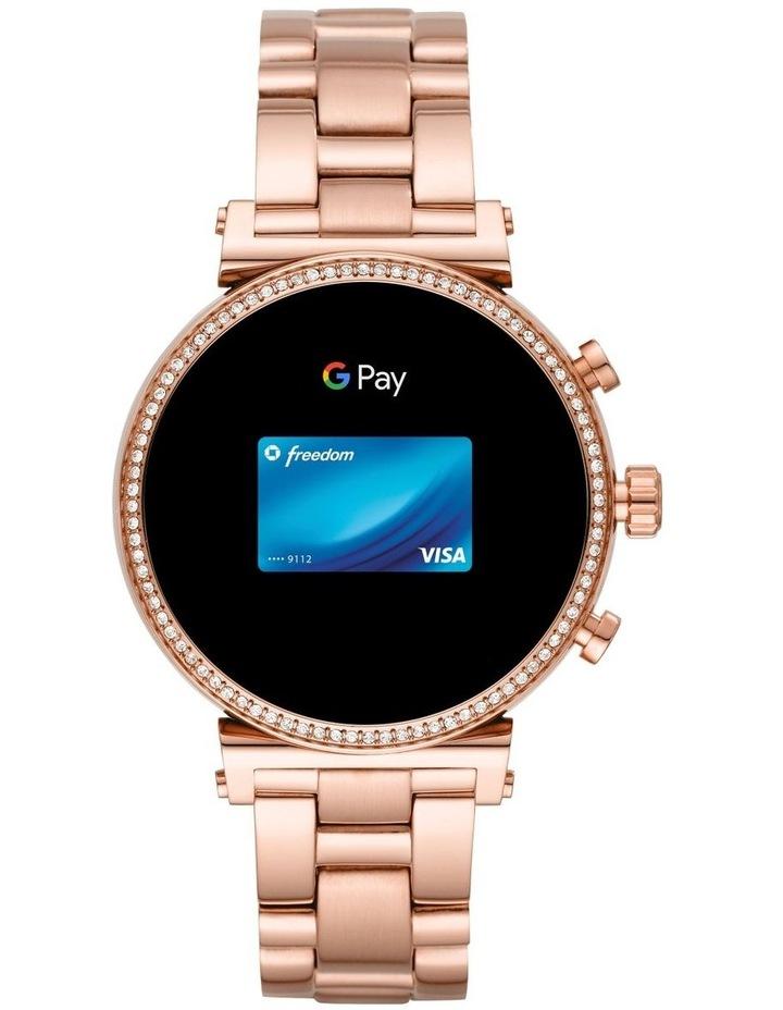 Sofie Rose Gold-Tone Display Smartwatch Watch MKT5063 image 5
