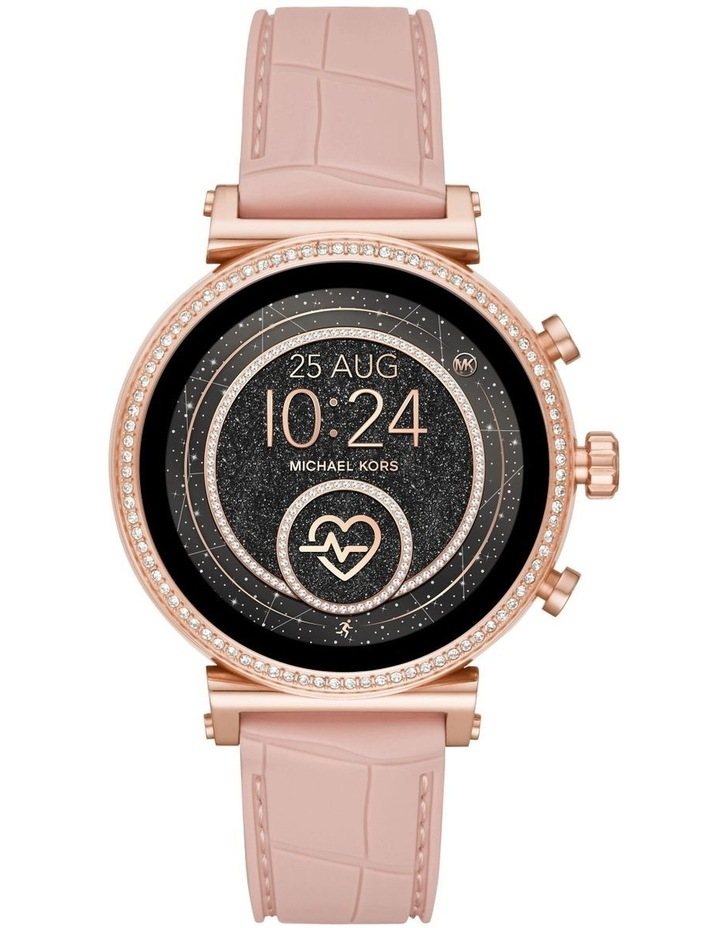 Sofie Pink Display Smartwatch Watch MKT5068 image 1