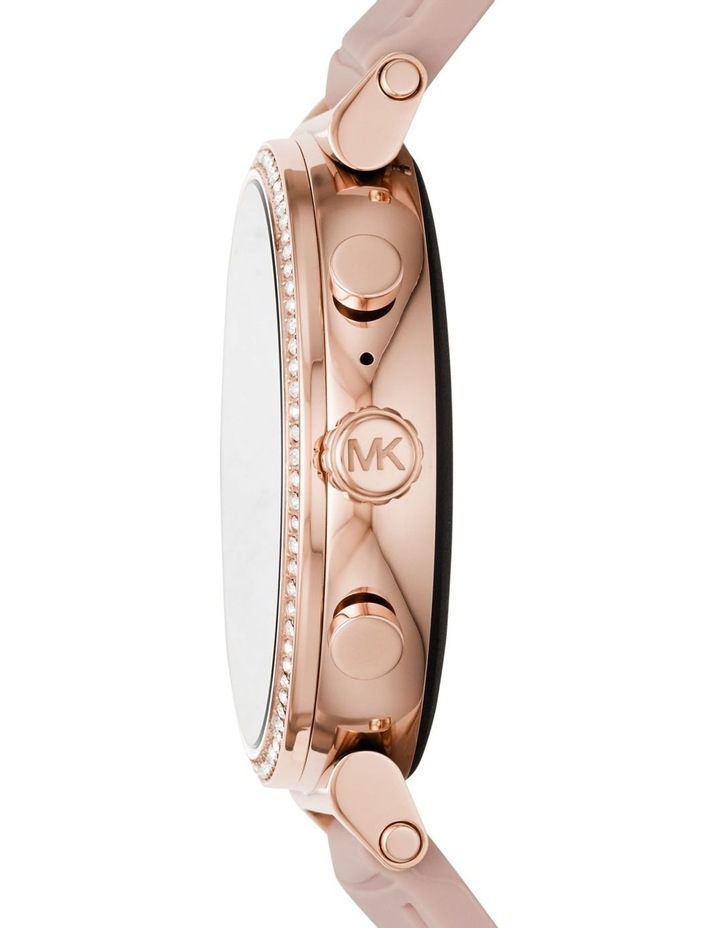 Sofie Pink Display Smartwatch Watch MKT5068 image 3