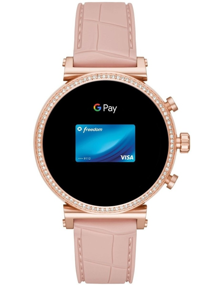 Sofie Pink Display Smartwatch Watch MKT5068 image 5