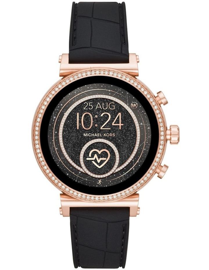 Sofie Black Display Smartwatch Watch MKT5069 image 1