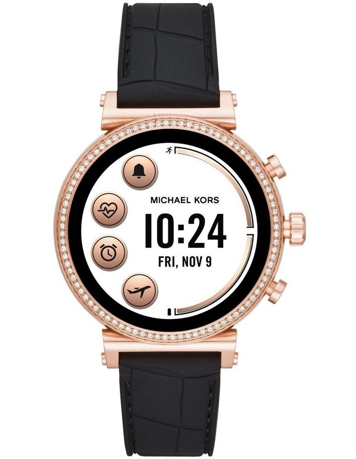 Sofie Black Display Smartwatch Watch MKT5069 image 4