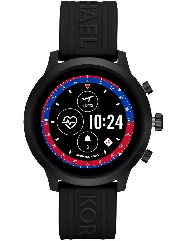 MKGO Black Display Smartwatch Watch MKT5072 image 4