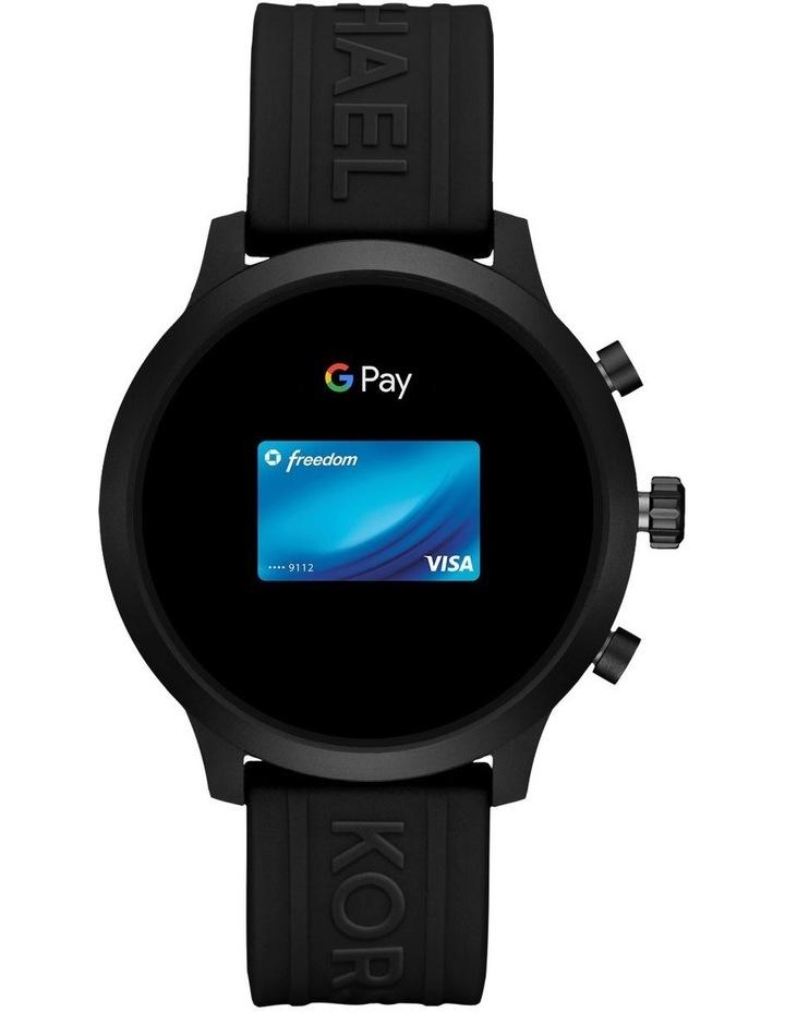 MKGO Black Display Smartwatch Watch MKT5072 image 5