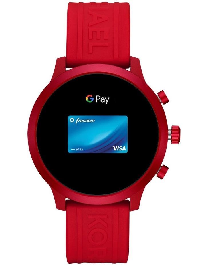 MKGO Red Display Smartwatch Watch MKT5073 image 5