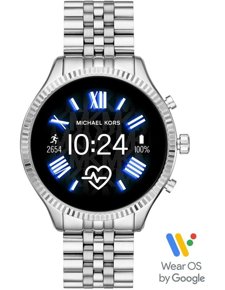 Gen 5 Lexington Silver Display Smartwatch Watch MKT5077 image 1