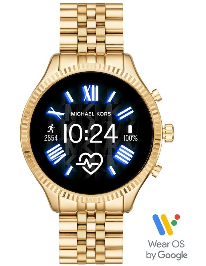 Gen 5 Lexington Gold-Tone Display Smartwatch Watch MKT5078 image 1
