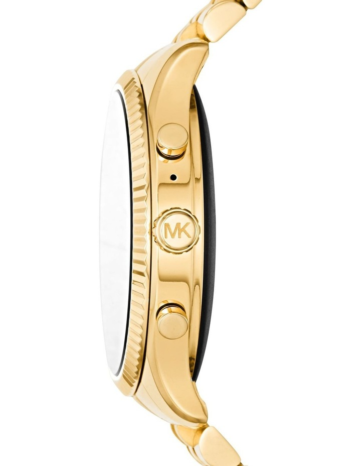 Gen 5 Lexington Gold-Tone Display Smartwatch Watch MKT5078 image 3