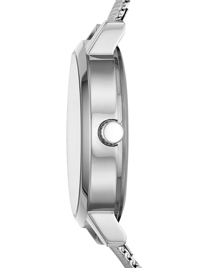 The Modernist Silver Analogue Watch NY2815 image 2