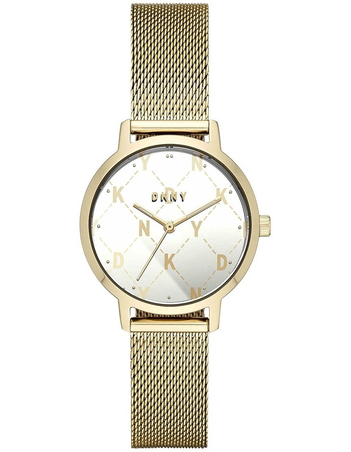 The Modernist Gold-Tone Analogue Watch NY2816 image 1