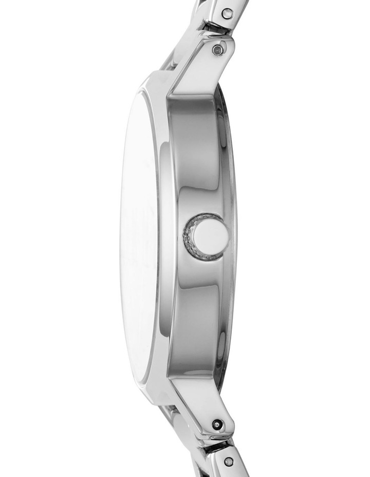 The Modernist Silver Analogue Watch NY2838 image 3