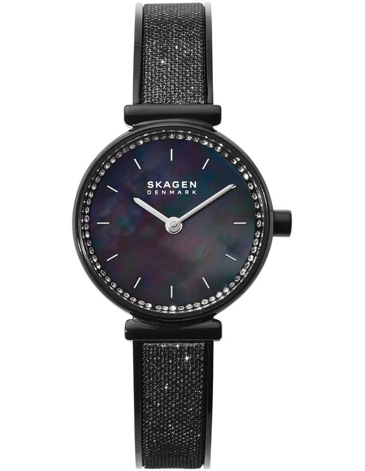 Annelie Black Analogue Watch SKW2792 image 1