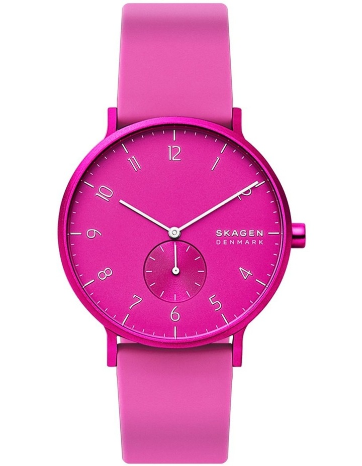 Aaren Kulor Pink Analogue Watch SKW6543 image 1