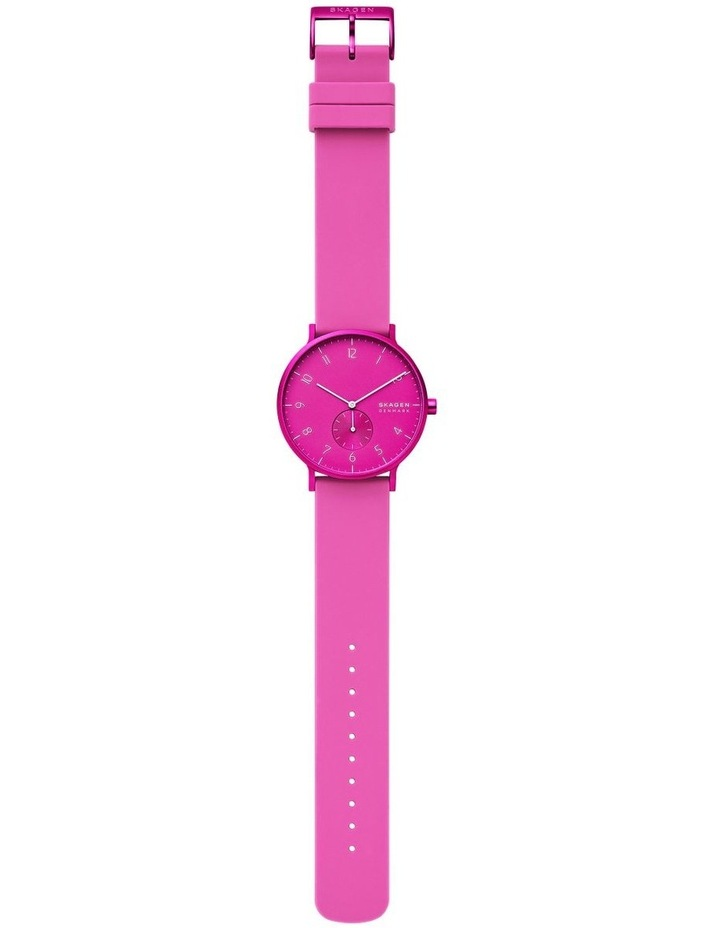 Aaren Kulor Pink Analogue Watch SKW6543 image 4
