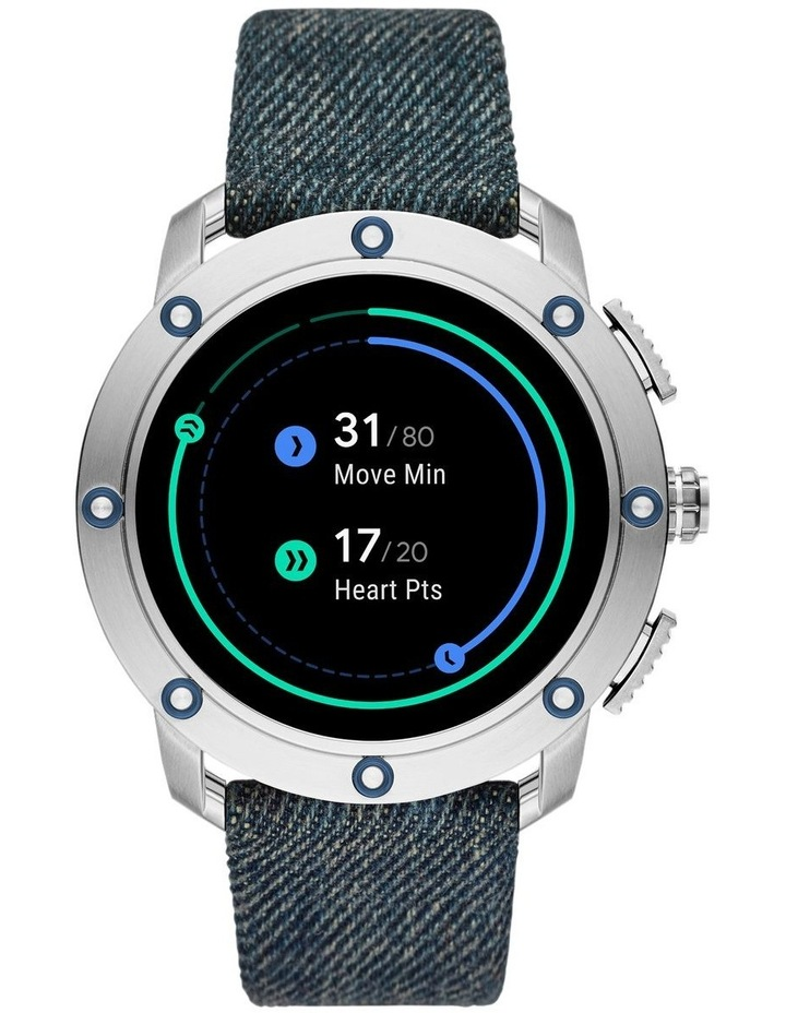 Gen 5 Axial Blue Display Smartwatch DZT2015 image 7