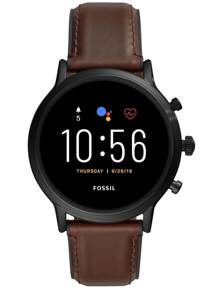 Gen 5 The Carlyle Hr Dark Brown Display Smartwatch FTW4026 image 1