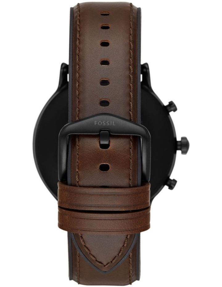 Gen 5 The Carlyle Hr Dark Brown Display Smartwatch FTW4026 image 2