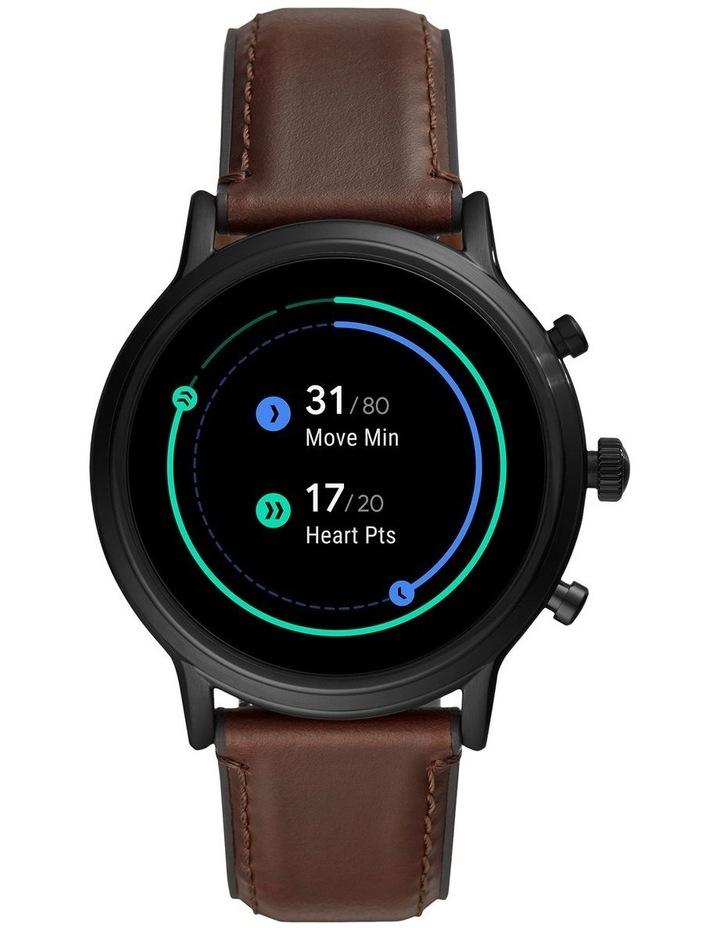 Gen 5 The Carlyle Hr Dark Brown Display Smartwatch FTW4026 image 3