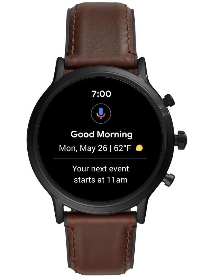 Gen 5 The Carlyle Hr Dark Brown Display Smartwatch FTW4026 image 5