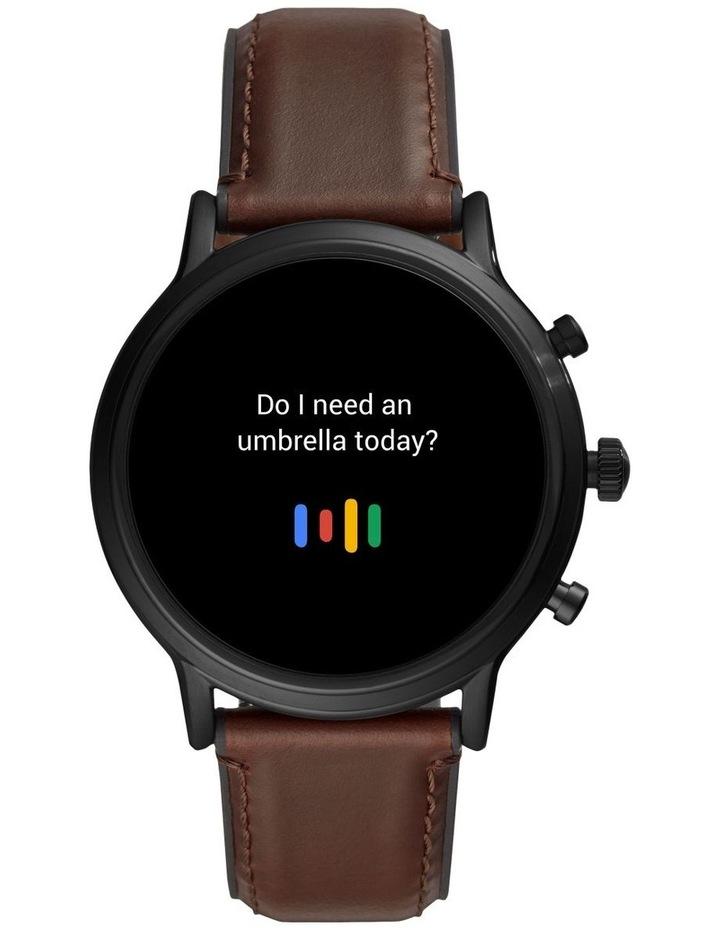 Gen 5 The Carlyle Hr Dark Brown Display Smartwatch FTW4026 image 7