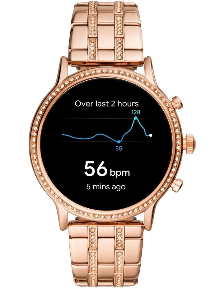 Gen 5 Julianna Hr Rose Gold Display Smartwatch FTW6035 image 4