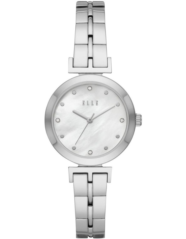 Odeon Silver-Tone Analogue Watch image 1